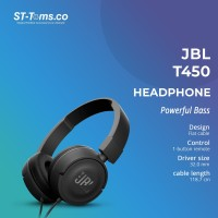 JBL On-Ear Headphone T450 - Black - 3