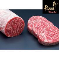 Wagyu Tenderloin Steak 200g Meltique Meltik Daging Sapi Saikoro Slice