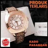 Jam tangan wanita Coach Leather original Branded Original