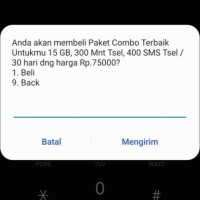 Kartu Sakti Combo | Sakti Telkomsel 15Gb Nelpon SMS Simpati As Loop