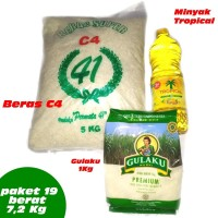 paket no 19 parcel sembako murah beras gula parsel beras