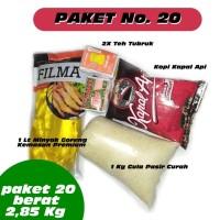 Paket No 20 Promo Parcel Sembako Parsel Gula Kopi Murah EXP DATE AMAN