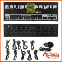 Caline Power Supply 10 Isolated Output Guitar Effect Pedal CP-05