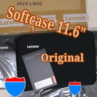 LENOVO 11.6 inch Softcase Sleeve Tas Notebook Laptop 11.6 inch Origi