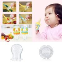 untuk Bayi Peralatan Makan Silikon Susu Jus Buah Makanan Segar Aman