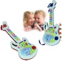 Gitar listrik, Mainan musik, Bermain anak laki-laki perempuan balita
