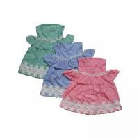 1pc DRESS BAJU BABY BAYI RENDA SABRINA 3-12 bulan - SNI Standart