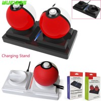 for NS Switch Poke Ball Plus Charging Stand Pokeball Charger Dock