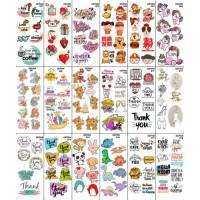 MURAH Edible Stamp Katalog 1 Stempel INSTANT Hiasan Makanan / Minuman