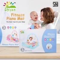 lucu baby gym playmat music bayi playmat matras mainan piano