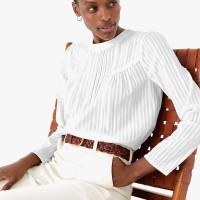 MARKS & SPENCER - Blouse Wanita - Pure Cotton Striped Blouse