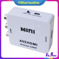 Sale 1080P Mini Composite HDMI To AV Ke 3 RCA AV CVBS HDMI2AV