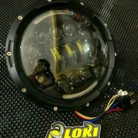 Lampu Daymaker 7 Inch Original pnp W175 Tiger Vixion sparepart