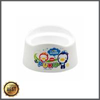 Promo Puku Baby potty luna toilet training white Diskon