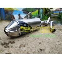 Knalpot Motor KLX CRF DTRACKER SUARA NGEBASS