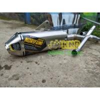 Knalpot Motor KLX CRF DTRACKER NGEBASS