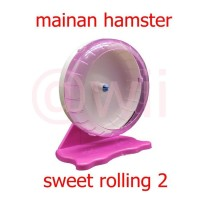 Terbaru!! Mainan Roda Joging Wheel Puteran Kincir Hamster Sweet