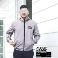 SAMASE JAKET HOODIE GREY - W00211 - S