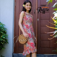 Dress Daster panjang jumbo xxl maxi ori vanzaa Bali 41