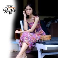Dress Daster panjang jumbo xxl maxi ori vanzaa Bali 38
