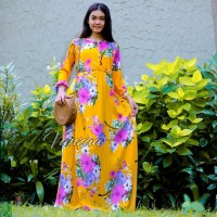 Dress Daster panjang jumbo xxl maxi ori vanzaa Bali 04