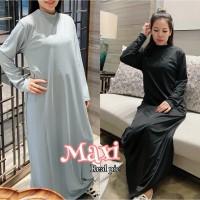 Damai fashion jakarta - baju MAXI TURTLE NECK SARAH gamis wanita - kon