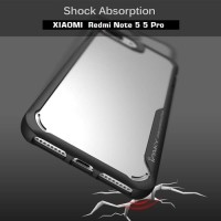 Case Redmi Note 5 5 Pro Soft Cover Casing iPaky Armor Clear Softcase