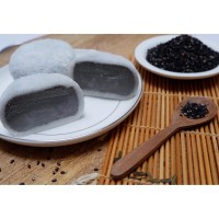 Black Sesame Mochi Ice Cream