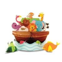 Centerpiece Tema Noahs Ark - perlengkapan pesta ulang tahun