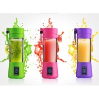 Blender Juice mini USB Shake and Go Blender Portable Recharge 4 pisau