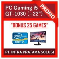 "PC Gaming / Design i5-3470 + 8GB RAM + SSD + Nvidia GT1030 + LED 22"""