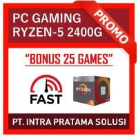 PC Gaming Bronze - AMD Ryzen 2400G + RAM 8GB DDR4 + HDD 500GB