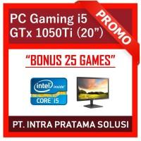 """PC Core i5-3470 + RAM 8GB + HDD 1TB + GTx 1050Ti 4GB + LED 20"""""""