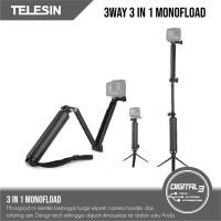 Telesin 3 Way Multi Fungsi / Floaty / Tripod