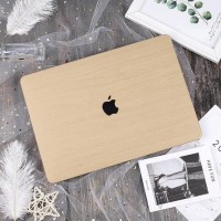 Casing Shell Cover Hardcase Light Brown Macbook Pro Touchbar 13 inch