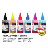 Tinta Printer Art Paper F1 Ink Black 100 ml for Printer Epson - Hitam
