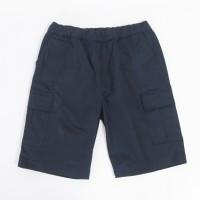 Daily Outfits Celana Kargo Pants Pendek Cargo Katun Strech Navy Blue