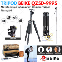 Tripod Beike QZSD-999S + Free Tas (bisa jadi monopod juga)