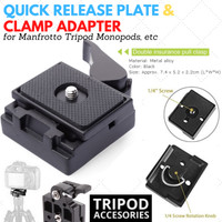 Base Plate / Quick Release Tripod (manfrotto type)