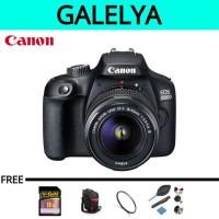 Kamera canon eos 3000d kit 18-55mm (paket lengkap)