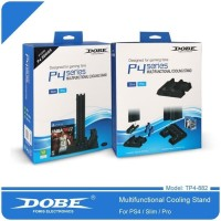 Dobe Multifunctional Vertical Cooling Fan Charging Stand Ps4 Slim Pro