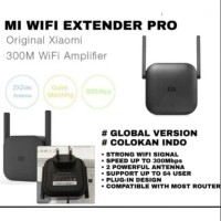 Xiaomi wifi extender pro repeater amplifier 300mbps with 2