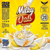 Milky Oats Banana 60ML by Patriot27 100% Authentic