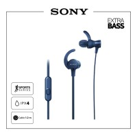 SONY MDR-XB510AS Blue Extra Bass Sport Earphone / XB510AS / XB-510