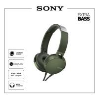 Sony Extrabass Headphone MDR - XB550AP/G - Green
