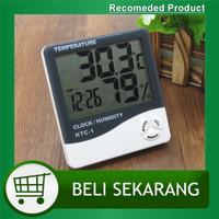 Hygrometer Thermometer HTC-1 Higrometer Termometer Ruangan Dgital LCD