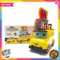 Tool Car Portable Mini Bus Mainan Truk Alat Tukang - NB-03914
