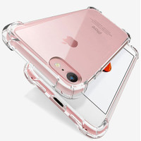 Iphone 4 5 5s SE 6 6s 7 8 Plus Case Anti Crack Fiber Casing Hard Soft