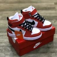 Sepatu Anak Laki laki dan perempuan Nike Jordan Merah Putih