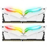 Team Memory TForce Night Hawk RGB 2x8GB PC 3600 DDR4 - White